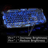 M200 Thunder 3-LED Gaming Keyboard - Novero Gaming Store