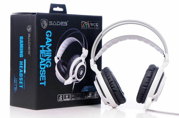 Sades Z-138 Illuminated Gaming Headset