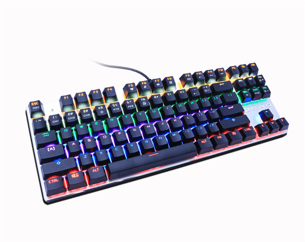 Metoo Zero 87 Keys Mechanical Keyboard Blue Switch
