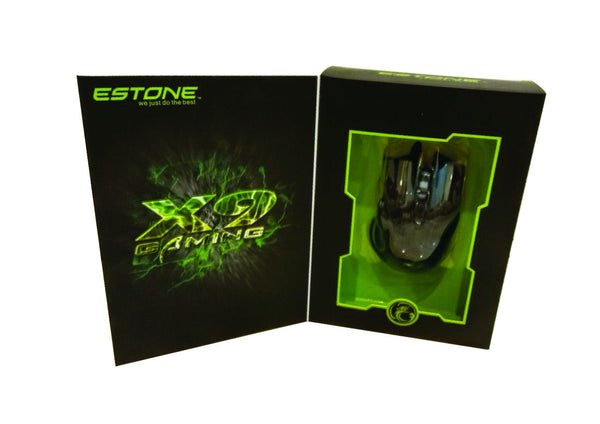 ESTONE X9 6-Button LED GAMING MOUSE