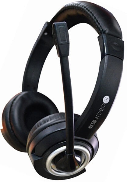 Moson SW-018 Extra Bass Gaming Headset with Long Mic