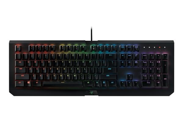 Razer BlackWidow X Chroma - RGB Mechanical Gaming Keyboard with Military Grade Metal Construction