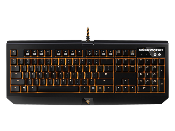 Razer Overwatch BlackWidow Chroma Clicky Mechanical Gaming Keyboard
