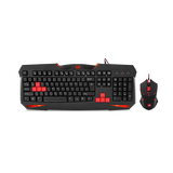 REDRAGON CENTROPHOROUS GAMING MOUSE + REDRAGON VAJRA GAMING KEYBOARD - Novero Gaming Store