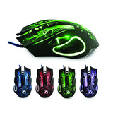 Imice X9 6-Button LED GAMING MOUSE - Novero Gaming Store