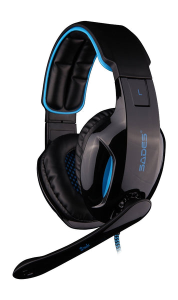 Sades Snuk 7.1 Surround Sound Effect USB Gaming Stereo Headset with Mic