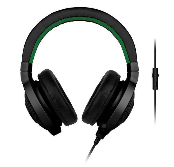 Razer Kraken Pro 2015 Gaming Headset 3.5mm jack input (Black, Green and White)