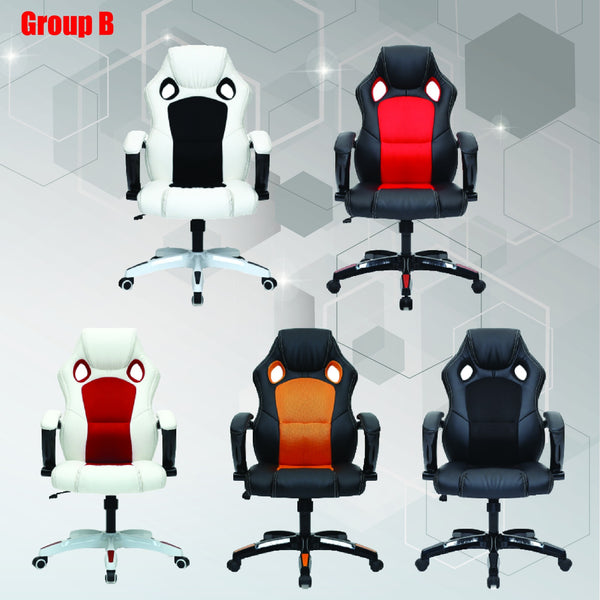 Dual Tone Gaming Chair
