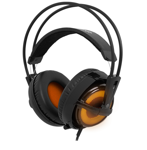 SteelSeries Siberia v2 Illuminated Heat Orange