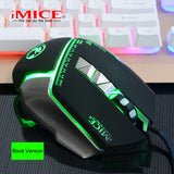 iMice V9 Wired Professional 7 Button 4000 DPI Gaming Mouse - Novero Gaming Store