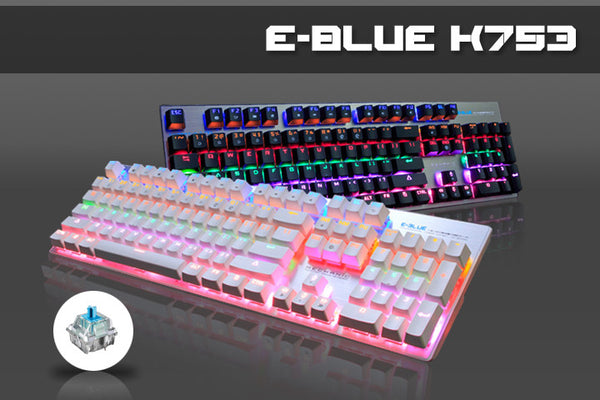E-BLUE K753 Mechanical Keyboard Rainbow