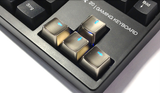 Metal Mechanical Keycaps WASD and Arrow Key Caps - Novero Gaming Store
