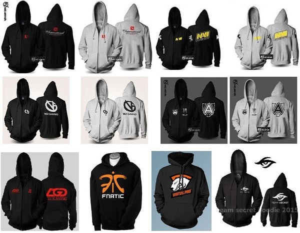 Dota 2 Top Teams Hoodies