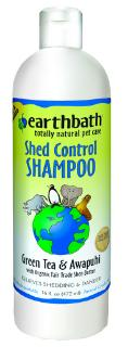Earthbath SHED CONTROL Shampoo, Green Tea Scent with Awapuhi 16oz