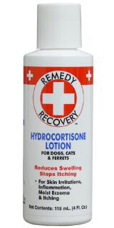 Cardinal Pet Remedy+Recovery Hydrocortisone Lotion 4 oz