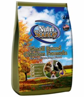Tuffy's Nutrisource Grain Free Chicken Small Breed Dog 5#