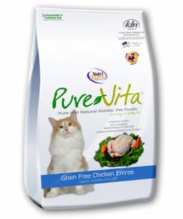 Tuffy's Pure Vita Grain Free Chicken/Pea Cat 2.2#