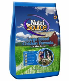 Tuffy's Nutrisource Grain Free Large Breed Chicken/Pea - Dog Food 30 lb.