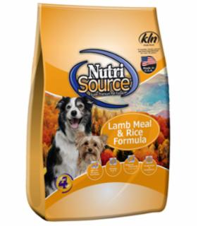 Tuffy's Nutrisource Lamb and Rice Dog - 6.6#