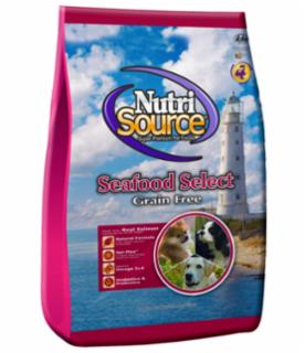 Tuffy's Nutrisource Grain Free Seafood Select Dog Food Made With Salmon, 15#