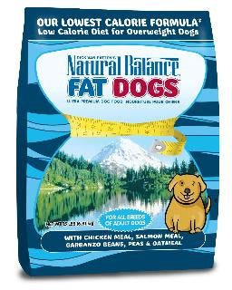Natural Balance Fat Dogs Low Calorie Dry Dog Food - 5 lb.