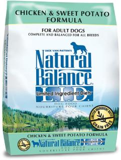 Natural Balance LID Chicken & Sweet Potato Dry Dog Food 13#