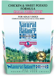 Natural Balance LID Chicken & Sweet Potato Small Breed Bites Dry Dog Food 4.5#