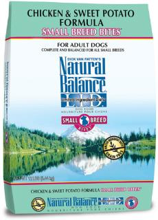 Natural Balance LID Chicken & Sweet Potato Small Breed Bites Dry Dog Food 12#