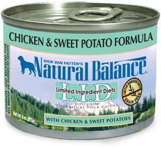 Natural Balance Limited Ingredient Diets Chicken & Sweet Potato Canned Dog Food 6 oz.
