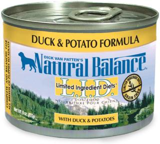 Natural Balance Limited Ingredient Diets Duck & Potato Canned Dog Food 6 oz.
