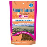 Natural Balance Perfect Bites Salmon Formula Cat Treats 3 oz