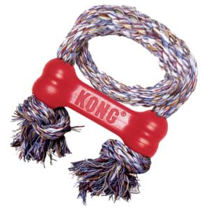 Kong Goodie Bone W/Rope Extra Small