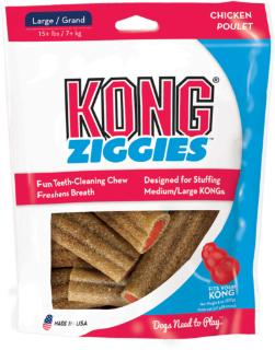 Kong Large Ziggies Dog Treats Large 6 oz.