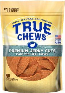 True Chews Turkey Jerky 12 oz