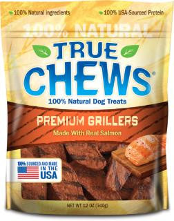 True Chews Premium Grillers Made with Real Salmon 12oz