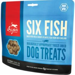 Orijen Freeze-Dried Six Fish Dog Treats  3.25 oz