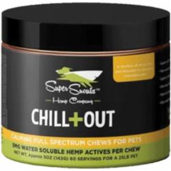 Super Snout Hemp Dog Full Spectrum Pcr Chew Chill Out 30 ct