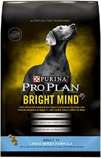 Pro Plan Bright Mind Large Breed Ad +7 30lb