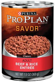 Pro Plan Adult Beef and Rice 13 oz