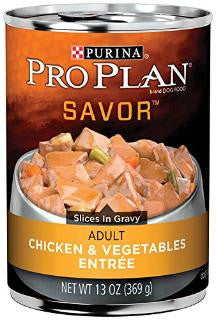 Pro Plan Chicken and Vegetables Entree for Adult Dogs 13 oz