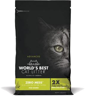 World's Best Advanced Zero Mess Pine Scented Litter 12#
