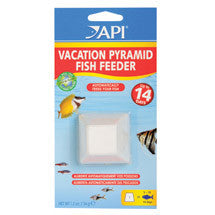 API Fishcare Vacation Pyramid Fish Feeder