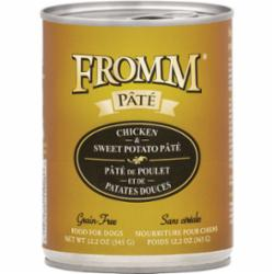 Fromm Dog Grain Free Pate Chicken Sweet Potato 12.2 oz