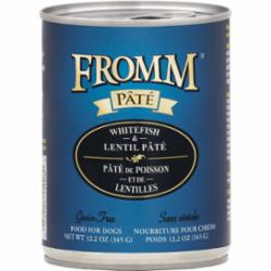 Fromm Dog Grain Free Pate Whitefish 12.2 oz