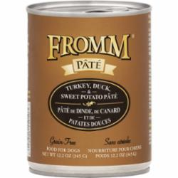 Fromm Dog Grain Free Pate Turkey & Duck 12.2 oz