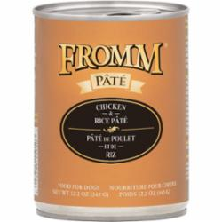 Fromm Dog Pate Chicken & Rice 12.2 oz