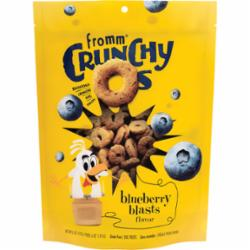 Fromm Crunchy O's Blueberry Blasts Flavor Dog Treats, 6oz