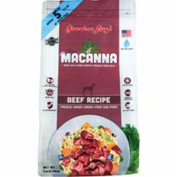 Grandma Lucy's Dog Freeze Dried Macanna Grain Free Beef 1 lb