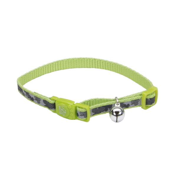 Lazer Brite® Reflective Adjustable Breakaway Cat Collar