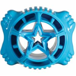 Hero Dog Bone Ball Treat USA Blue Medium
